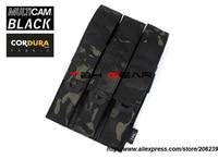 TMC Triple Kriss Magazine Pouch Genuine USA 500D Multicam Black Tactical Gear+Free shipping(SKU12050487)
