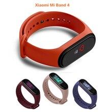 עבור שיאו mi Mi Band 4 חכם להקת 0.95 אינץ מלא צבע מסך Bluetooth 5.0 צמיד עמיד למים חכם צמיד יד רצועה על Mi 4