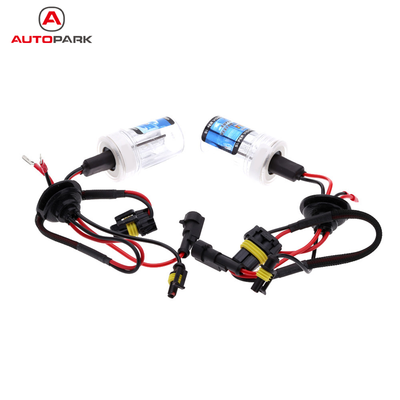 One  Set of 12V AC H11 35W HID Xenon Conversion Kit Car Head Lights Replacement Bulbs Lamps 4300K 6000K 8000K