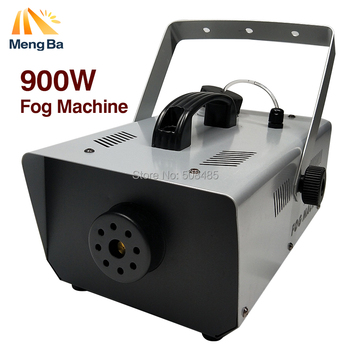2018 New Arrival Portable Fog Smoke Machine Wired Remote Control 900W for Halloween Wedding Function Home Party Club Pub Holiday
