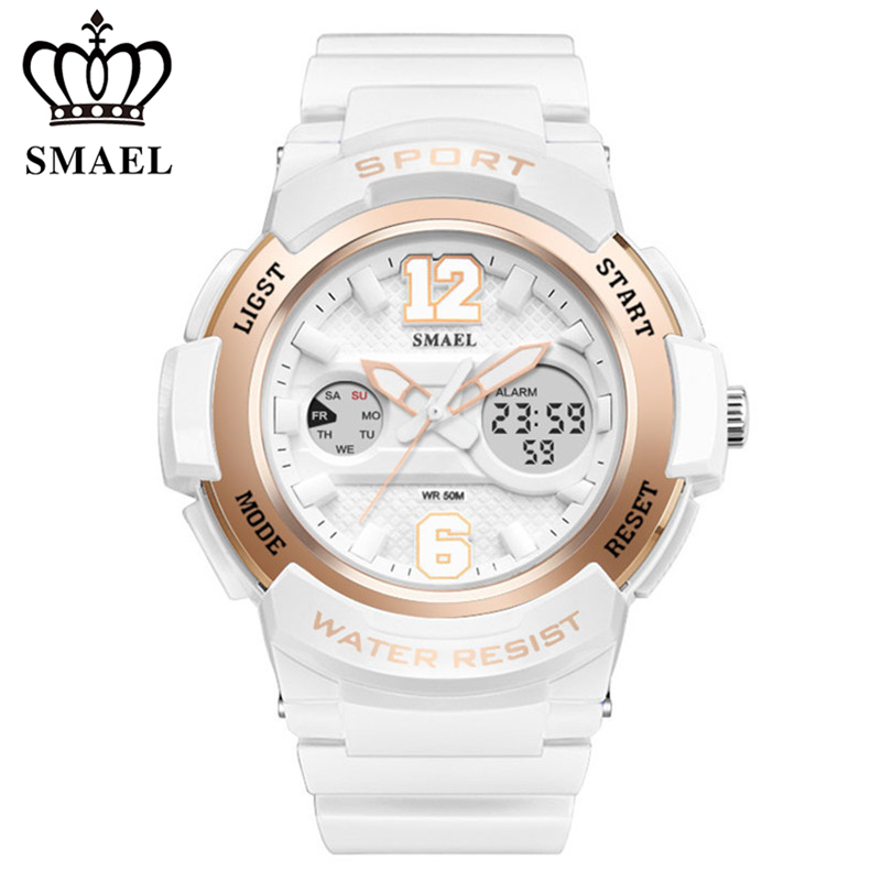 Digital Watch Clock Shock-Resistant Girl Casual-Style Kids Quartz Masculino SMALE Sports