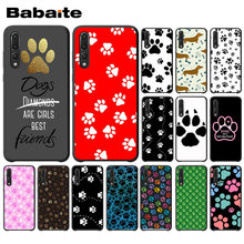 Babaite Rainbow cão pegada Paw Garra Acessórios Do Telefone Case For huawei honor 8x mate20 pro p20 p20 p9lite nova 3i pro funda(China)