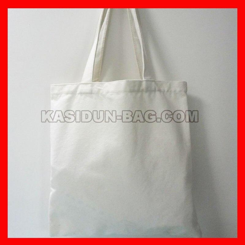 (100Pcs/Lot) Wholesale Eco Plain Blank Black White Tote Canvas Cotton Bags