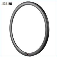 7 TIGER 1 Pair 27 5er XC Tubular Carbon Fiber Rim 23mm Depth 27mm Width MTB