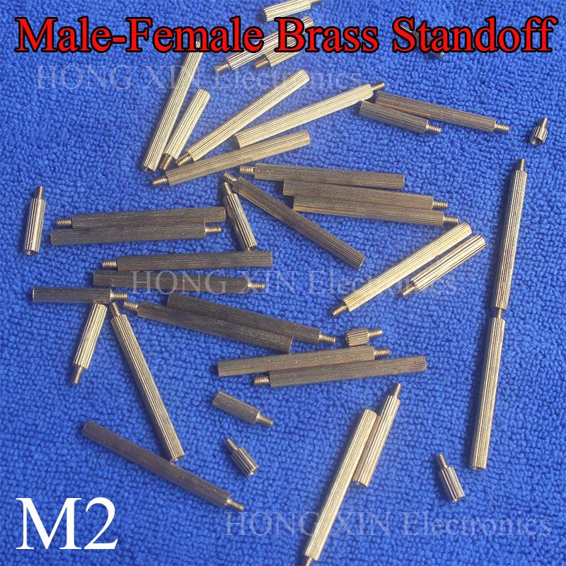 0.25 OD Stainless Steel #4-40 Screw Size Hex Standoff Pack of 5 4 Length, Female
