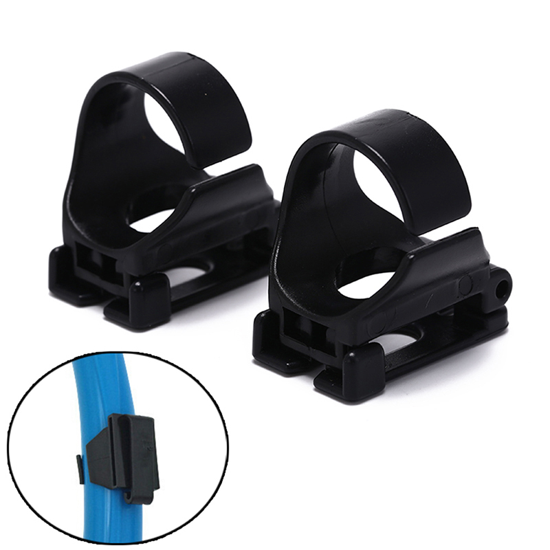 2pcs Plastic Clip Snorkel Mask Keeper Holder Retainer For Scuba Diving