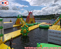 Custom Huge Adults Or Kids Inflatable Water Park On Ocean And Lake Use