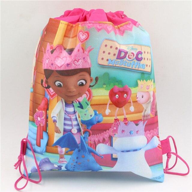Non Woven Fabrics Backpacks Doc Mcstuffins Theme Party Decorations