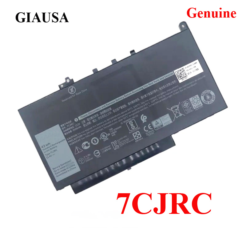 US $36 23 |New 7CJRC battery for Latitude E7270 E7470 Battery 21X15 021X15  11 4V 42Wh-in Laptop Batteries from Computer & Office on Aliexpress com |