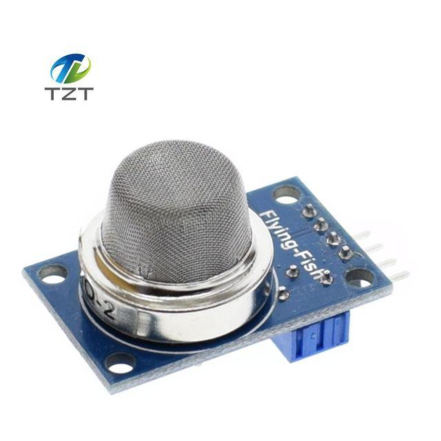 10pcs/lot Smart Electronics 1pcs MQ2 MQ 2 MQ-2 Smoke Liquefied Flammable Methane Gas Sensor Module for Arduino Diy Starter Kit