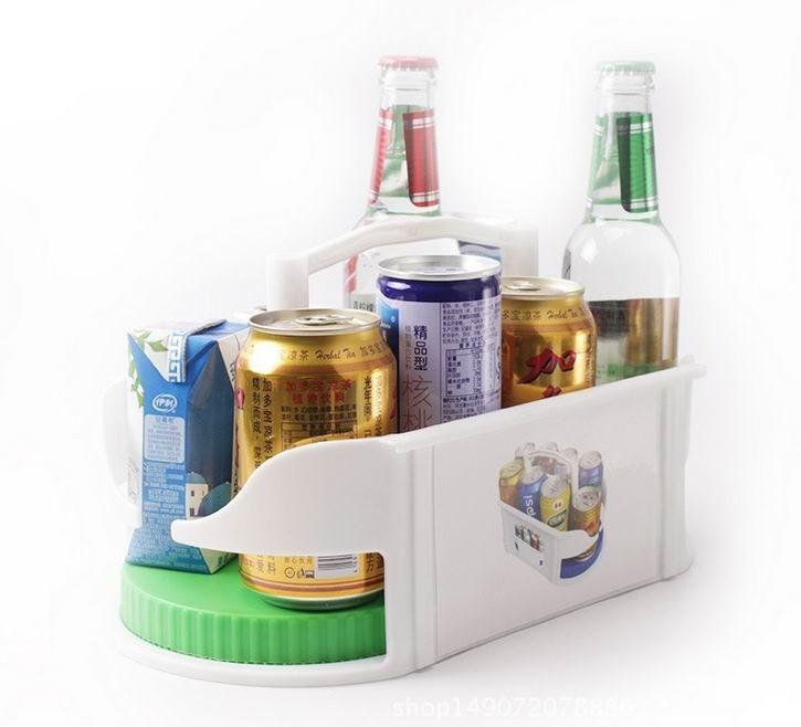 Neue Doppelrolle Aufbewahrungsbox Rotierenden Bad multifunktions Rack Roto Caddy Swivel Organizer Küche Racks