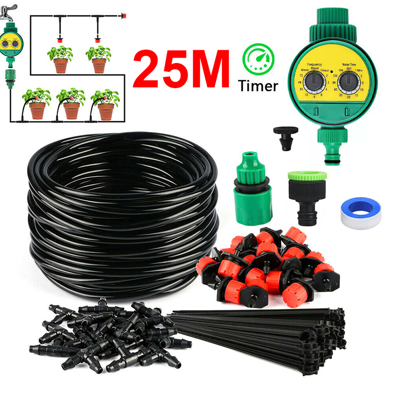 New Automatic Plant Outdoor Garden Water Intelligent Irrigation Kit Set Tools Micro Drip Watering System Agricultural Production