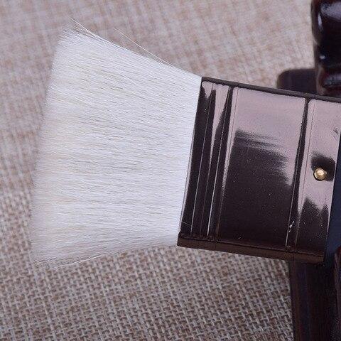 pintura oleo escova conjunto de la