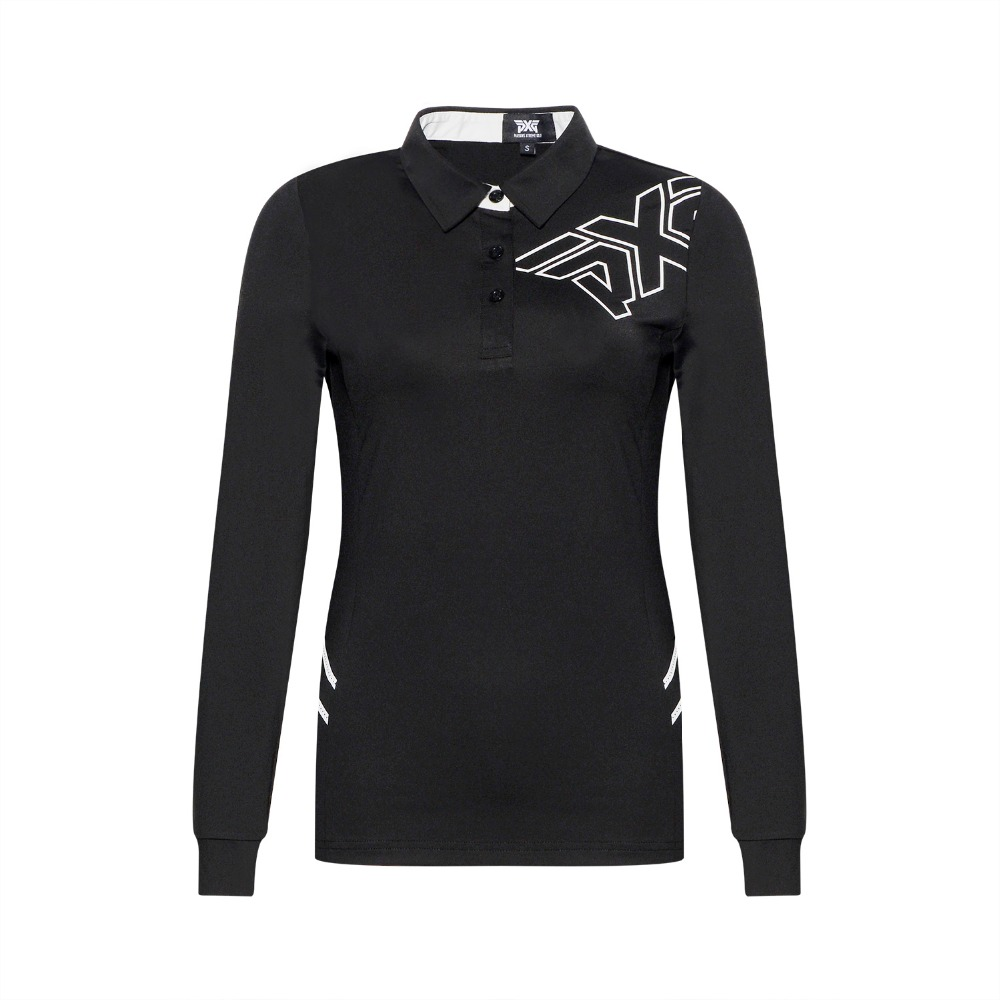 PXG Women Golf T-shirt New Slim Sportswear Lady Golf Jersey 3 colors Golf clothes S-XXL Long-Sleeve Leisure Brand Golf shirt new cooyute golf windbreaker v mens golf jackets long sleeve male golf clothing black colors xxl size golf