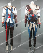 2016 Assassins Creed III Connor Kenway Cosplay Costume Halloween Christmas costume for men