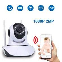 HD 1080 P 2MP домашней безопасности IP камера беспроводной Samrt мини PTZ аудио видео Камара няня CCTV Wi Fi ночное видение ИК-радионяня