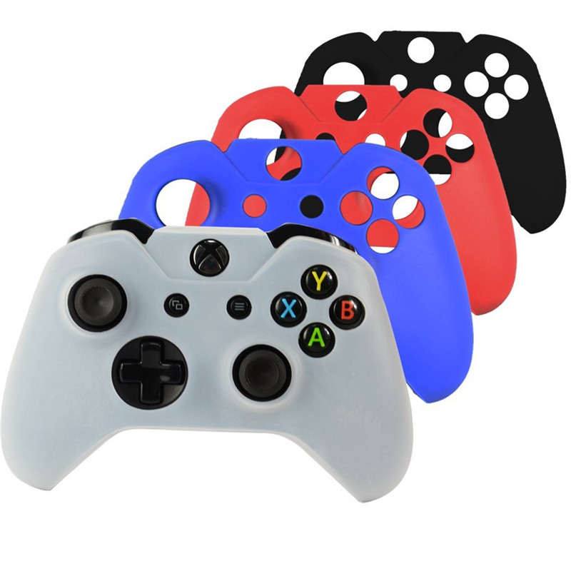 Camouflage Soft Silicone Rubber Protective Skin Case Cover For Microsoft Xbox One Game Controller Black White Red Blue
