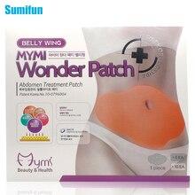 5Pcs MYMI Wonder Slimming Patch Belly Slim Patch Abdomen Weight Loss Fat burning Cream Navel Stick