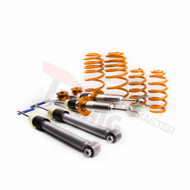 US $219 0 |4x Coilovers Lowering Suspension Kit for AUDI A4 B6 B7 8E 4WD 2W  QUATTRO Coilover Spring All Models Struts Spring-in Shock Absorber& Struts