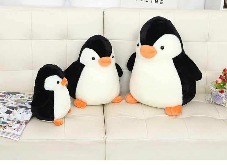 stuffed toy , lovely penguin plush toy throw pillow , birthday gift s7003 stuffed toy large 150cm floral rabbit plush toy soft throw pillow birthday gift w2969