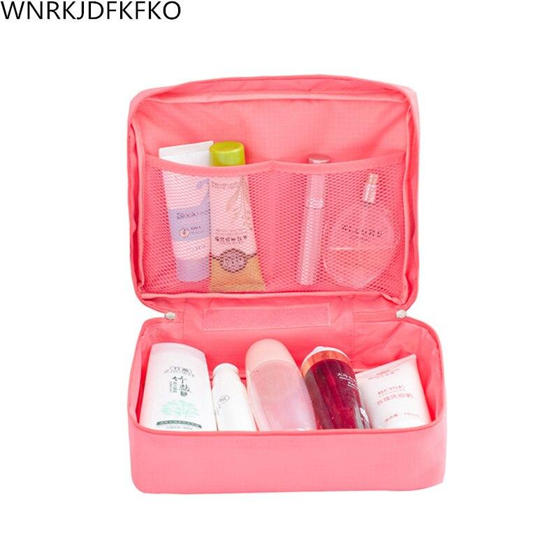 Ladies Makeup Bags Washing Cosmetics Storage Bags Beautician Storage Bags Travel Cosmetics Bags