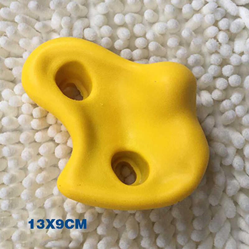 10 шт./компл. пластиковые скалолазание настенные камни разных цветов для детей