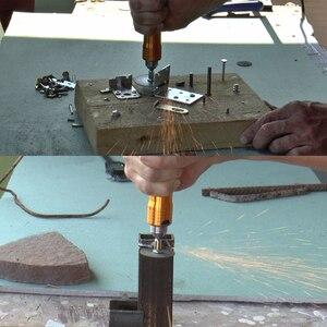 Image 3 - Herramienta de amoladora rotativa de 6mm, eje Flexible que se adapta a + 0 6,5mm, pieza de mano para Dremel, taladro eléctrico, accesorios de herramienta rotativa