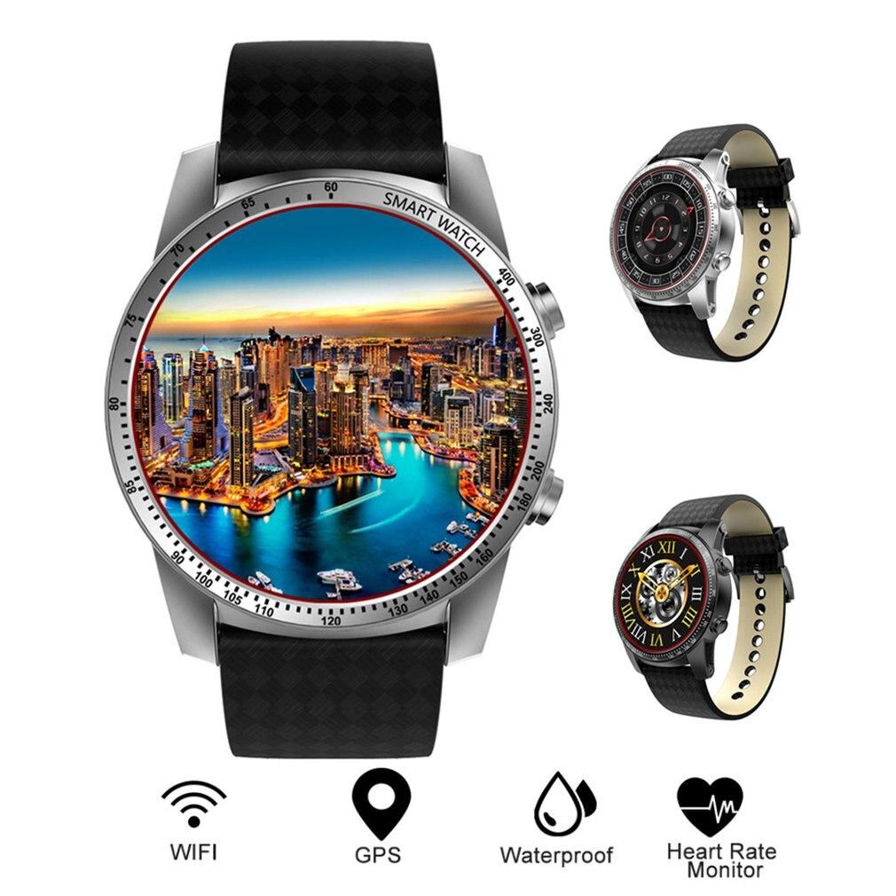 Android системы смарт часы сердечного ритма 8 г памяти с Bluetooth кожаный браслет Спорт умный браслет для женщин для мужчин часы