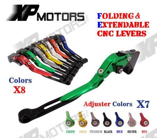 CNC Folding Extendable Brake Clutch Levers For Yamaha YZF R1 2009 2010 2011 2012 2013 2014 aluminum folding billet adjustable extendable brake clutch levers for aprilia rsv4 1000 factory 2009 2015 2010 2011 2012 2013