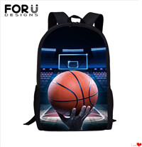 FORUDESIGNS-Brand-Design-Football-Soccer-Print-School-Bags-for-Teen-Primary-KIds-Backpack-Children-Male-Rucksack