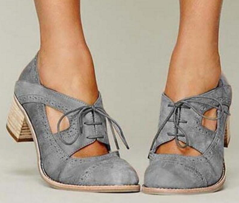 Laides De Botas Tobillo Grueso Ta0144 Zapatos Con Mujer Gladiador Lujo gray Tacón Cuero Pu Apricot Alto Cordones CpEWxdwR