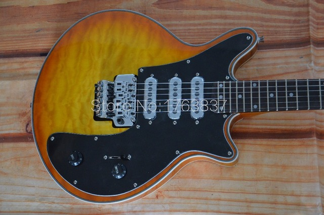 Shelly neue shop fabrik benutzerdefinierte Brian kann gitarre 3 ...