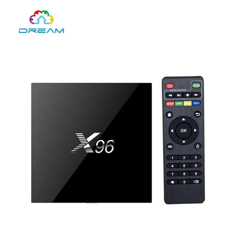 2G 16G X96 Android 6 0 Amlogic S905X Set Top font b TV b font Box