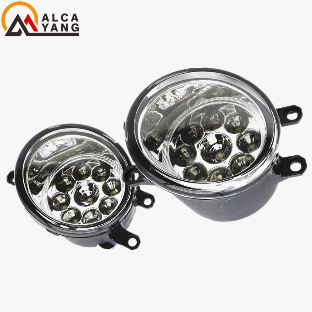 Malcayang Fog Lights for Polo 12V 55W H11 1 SET Car styling Halogen For LEXUS RX350 AWD 2009-2013 for lexus rx gyl1 ggl15 agl10 450h awd 350 awd 2008 2013 car styling led fog lights high brightness fog lamps 1set
