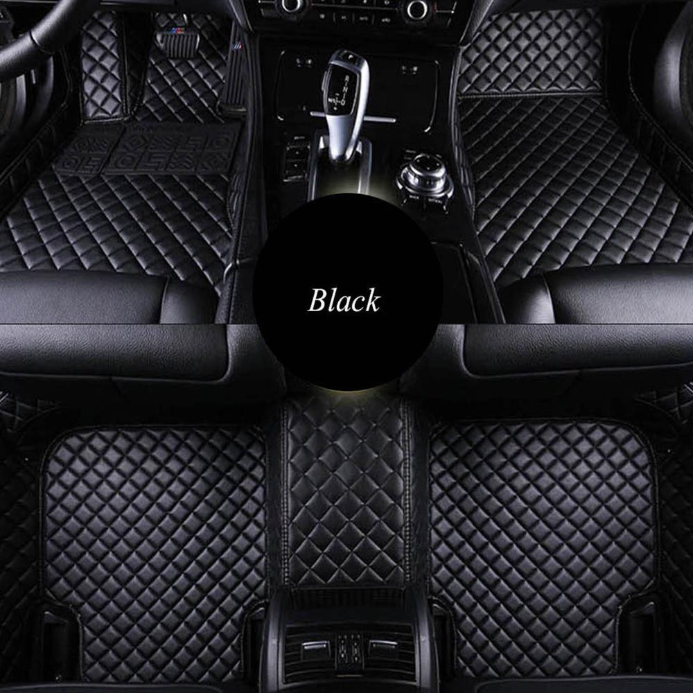 Car Floor Mat For Mercedes Benz W201 W202 W203 W204 W205 AMG C43 C63 C160 C180 C200 C220 C300 C350 Car Styling Floor Carpets