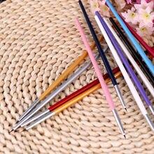 Красочный дизайн ногтей инструмент для рисования набор кистей для полировки Набор DIY Профессиональные кисти для косметического макияжа аксессуары 12 шт