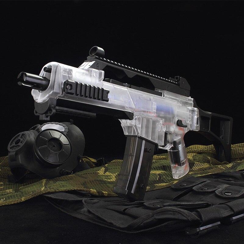 G36C pistolet à eau électrique rafale jouet Gel pistolets à eau pour enfants passe-temps porte