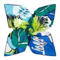 Mosoga 2016 New Silk Scarf Women Fashion Painted Flowers and Plants Twill Silk Square Handkerchief Big Size Autumn Pashmina Wrap