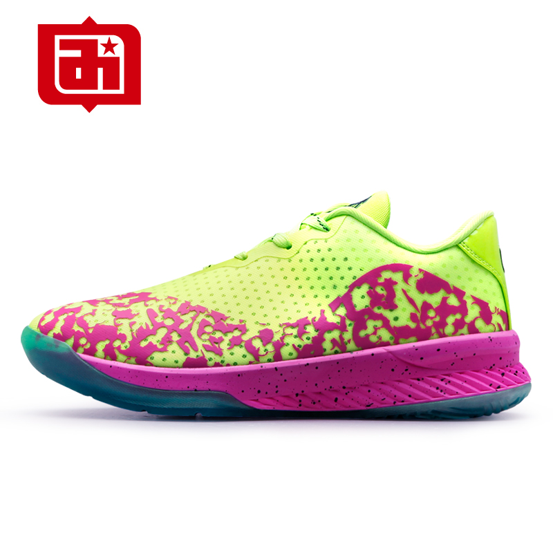 ФОТО Free Flexible Sneakers Men Basketball Shoes Confortable Hard Court Sport Shoes With Lace-Up Breathable Zapatos Hombre BA1047B