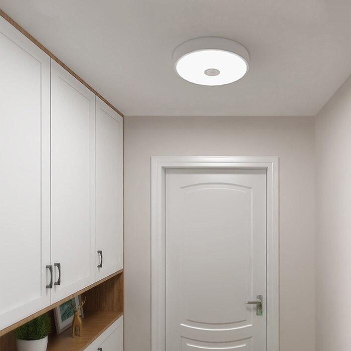 Оригинал Сяо mi Yeelight YLXD09YL человеческого тела/светочувствительная Сенсор индукции светодио дный потолочный светильник защита глаз свет в по...