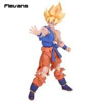 Dragon Ball Z SHFiguarts Fils Goku Super Guerrier Réveil Ver. Action PVC Figure Collection Jouet 17 cm