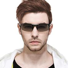 Photochrome Polarisierte Sonnenbrille Männer Semi Randlose Sonnenbrille Männer Fahren Sport Goggle Chameleon Ändern Farbe Schatten 2019