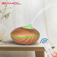 200ml Essential Oil Aroma Diffuser Air Humidifier Ergonomic Spray Angle Aromatherapy Ultrasonic With Remote Control For Home