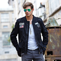 2016 New Autumn & Winter Men's Cotton Jackets Stand Collar Mens Jackets Fashion Casual Outerwear for Men Plus Size M-4XL