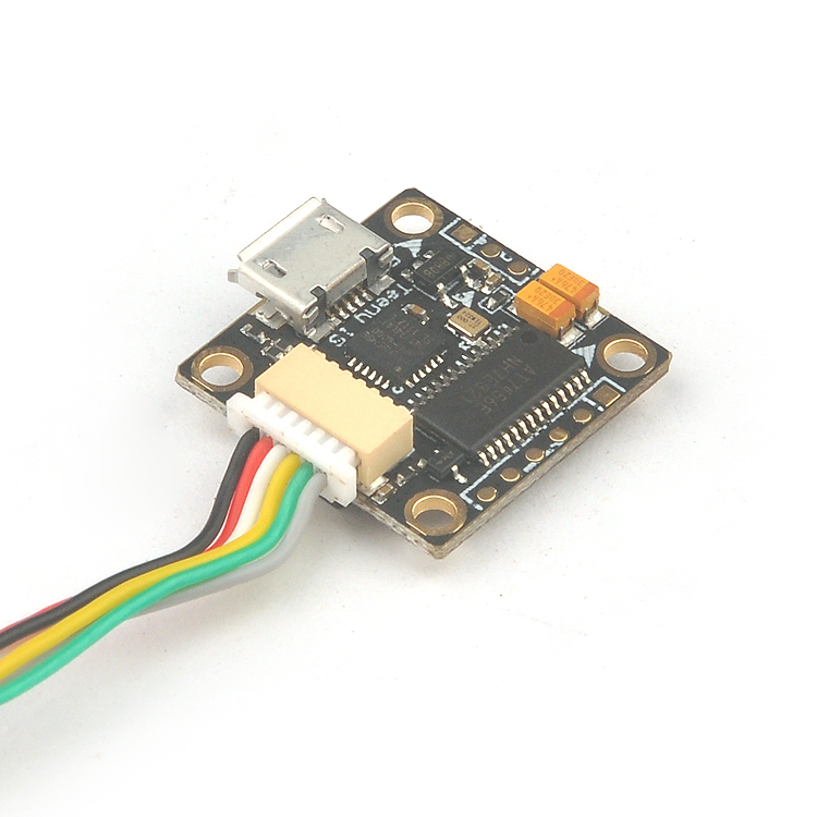 Teeny1S F4 Flight Controller Model Integrated OSD Build in 5V Boost Module Omnibus_S for RC Indoor Mini Drone Quadcopter