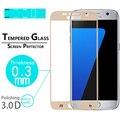 """Limpar Front film Protector de Ecrã para Samsung Galaxy S7 5.1 """"Cobertura Completa 3D Curvo Borda de Vidro temperado Film Protector de ecrã"""