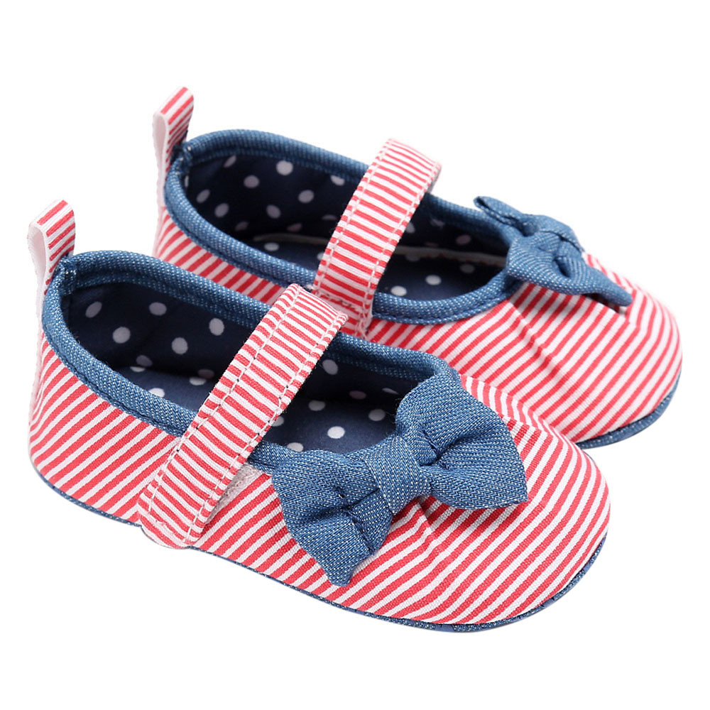 TELOTUNY Baby Infant Kids Girl Soft Sole Crib Toddler Newborn Shoes comfortable Crib Shoes Canvas Soft S3MAR1