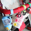 3PCS Baby stroller hook clips general strong 2 Hooks Strap hanger baby stroller accessories hook hanger baby carriage Colorful