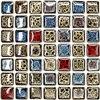 Polished Porcelain Tiles Mosaic Kitchen Backsplashl Tile HMCM1009G Bathroom Floor Tiles Ceramic Wall Tiles