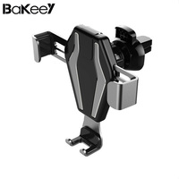 Bakeey Gravity Linkage Auto Lock Car Phone Holder Air Vent Phone Holders And Stand Portable For